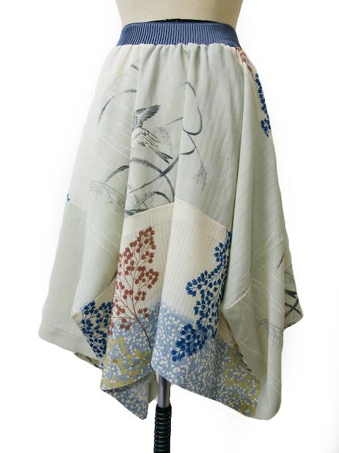 帯切り替えスカート